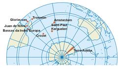Territorios Australes y Antárticos franceses