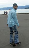 En patines