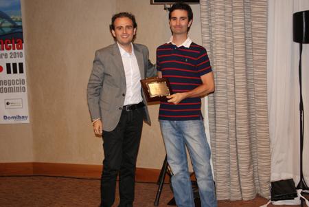 Mejor domaining del año: Javier Ruiz