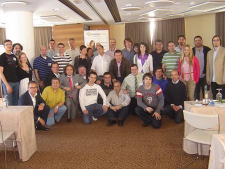 Participantes del II Encuentros Domaining de Valencia