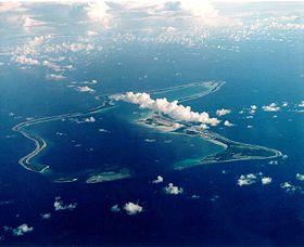 La islas Chagos