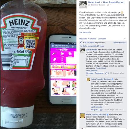 Heinz no renovó el dominio