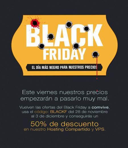 Black Friday en Comvive
