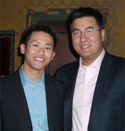 Lawrence Ng y Fred Hsu