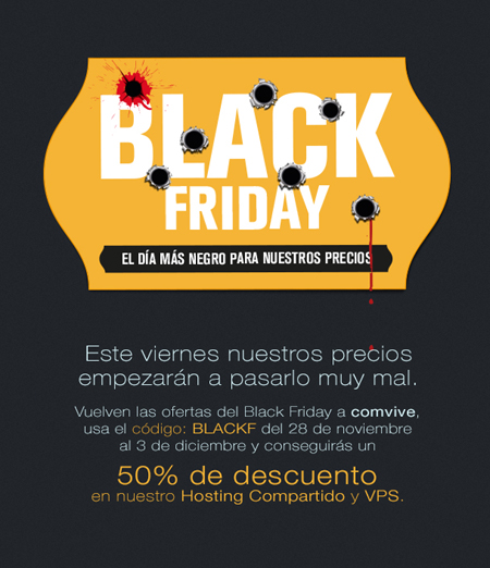 Black Friday en Comvive